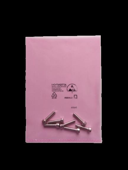 Różowe torebki jednowarstwowe