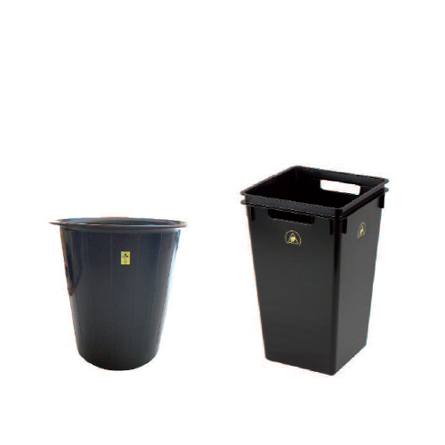 Przewodzące kosze na odpady