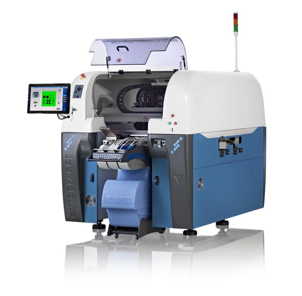 Automat montażowy Europlacer XPII+