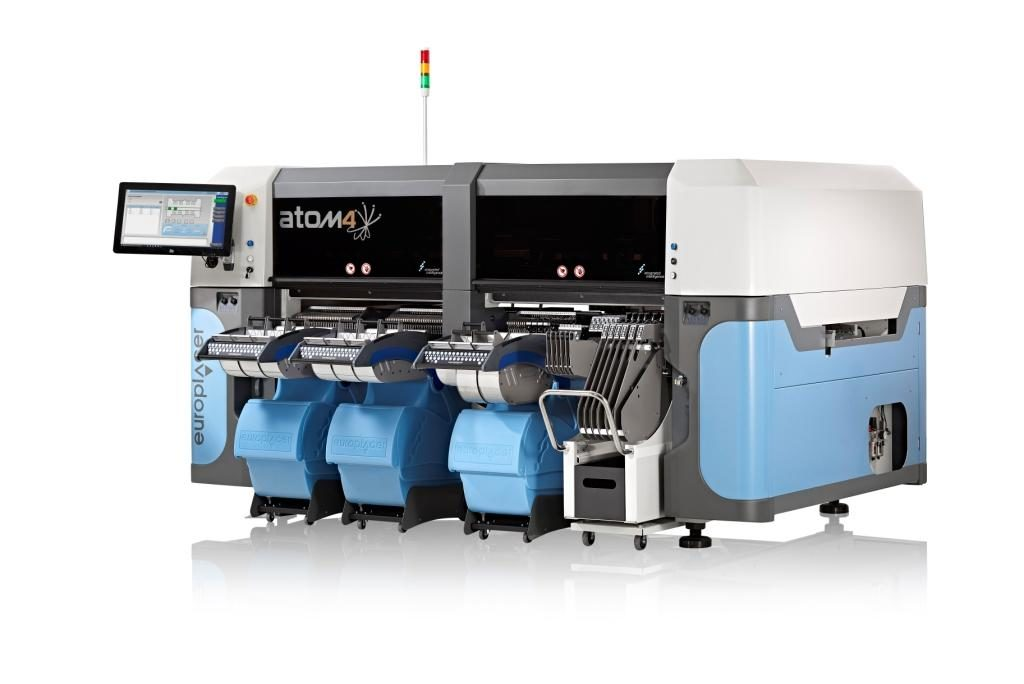 Automat montażowy Europlacer Atom 4