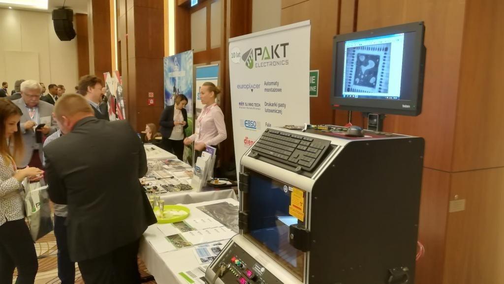 Stoisko pokazowe Pakt Electronics  na targach TEC 2018